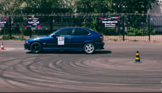 1 этап кубка РК по скоростному фигурному вождению