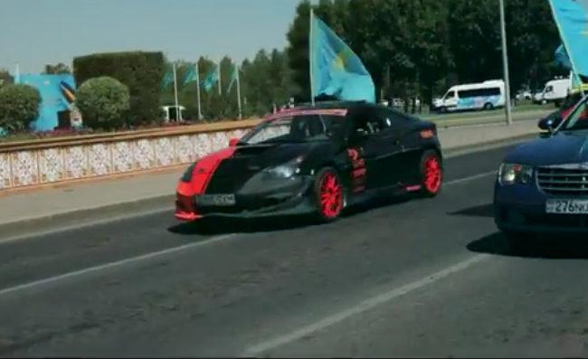 АвтоМото пробег ко дню государственных символов РК