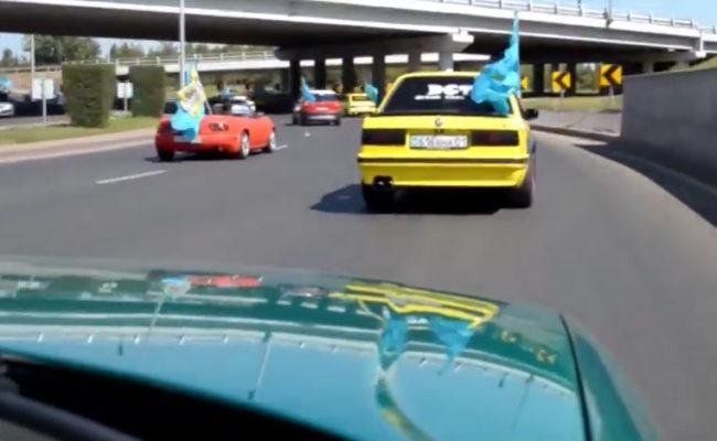 Автовыставка и автопробег 25 августа 2016. г. Астана